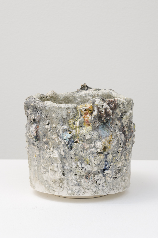 "Tony Marsh  Untitled, 2018  Glazed ceramic  6.5 x 7.5 x 7.5"""