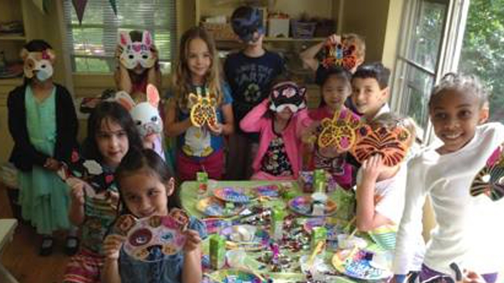 Mask Making Parties!