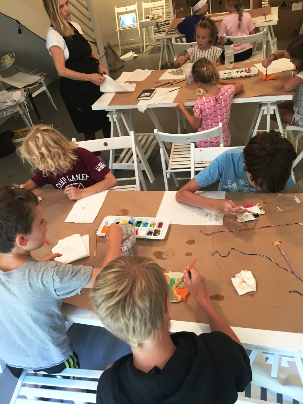 Art Camp Week Two, 2018