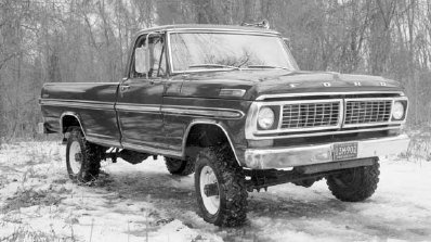 1970 Ford F Series Ranger 4x4
