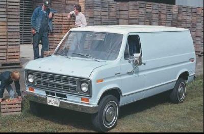 1975 Ford EconoLine Van