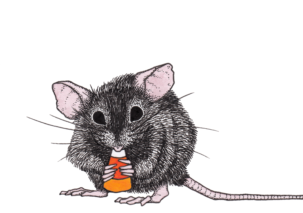 Mouse + Candy Corn