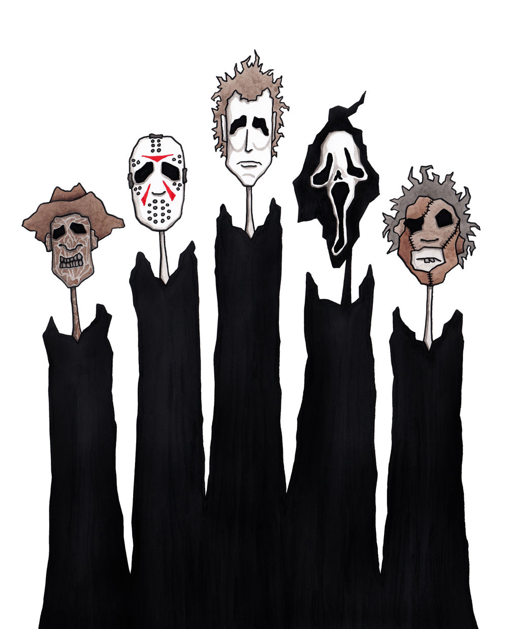 horror-freddy-kruger-michael-myers-jason-voorhees-ghostface-leatherface-illustration-matthew-woods.jpg