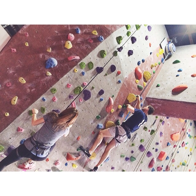 Madeline Nutrition — rock climbing
