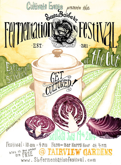 Santa Barbara Fermentation Festival tickets GIVEAWAY — w/ Madeline Nutrition