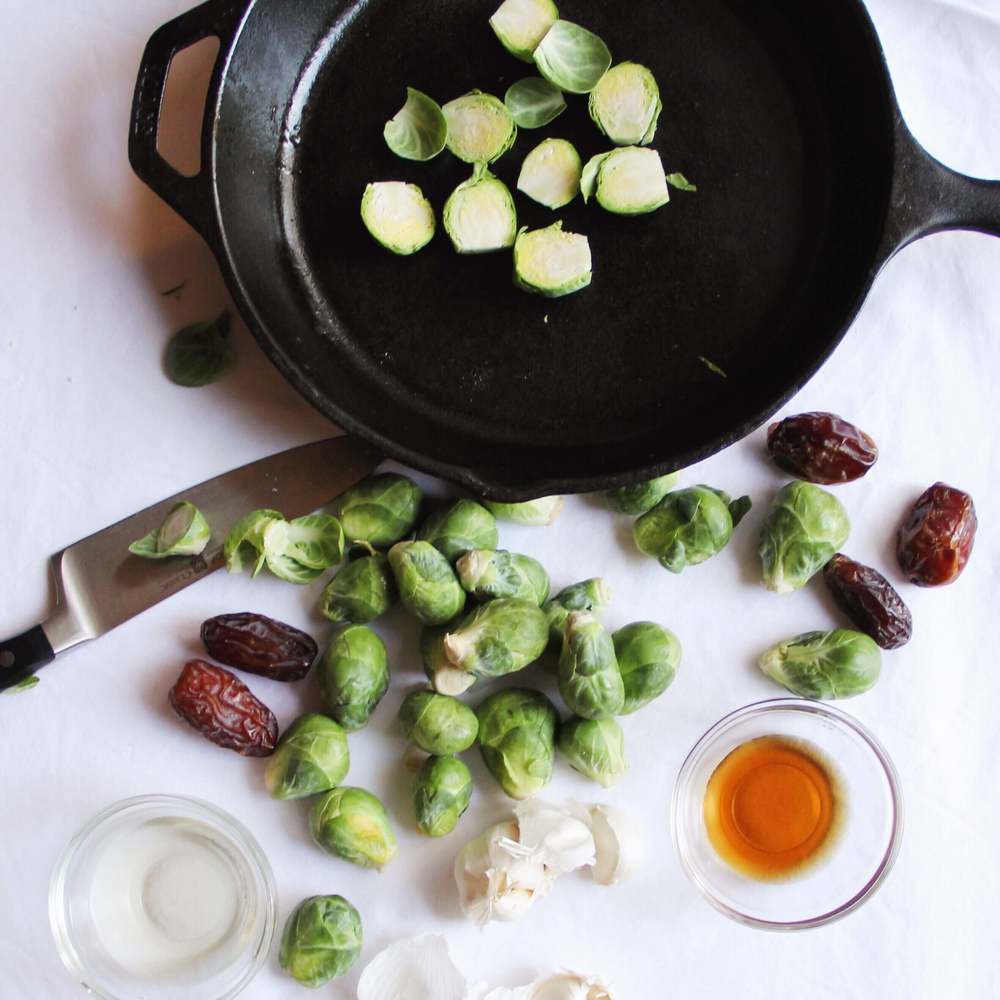 Madeline Nutrition — Tangy Roasted Brussels Sprouts