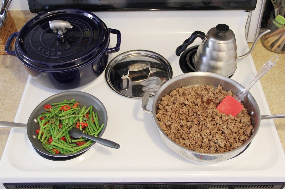 Madeline Nutrition —Thai Beef w/ Chiles, Basil & Shaved Asparagus