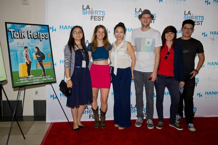 LA Shorts Fest Premiere of Talk Helps
