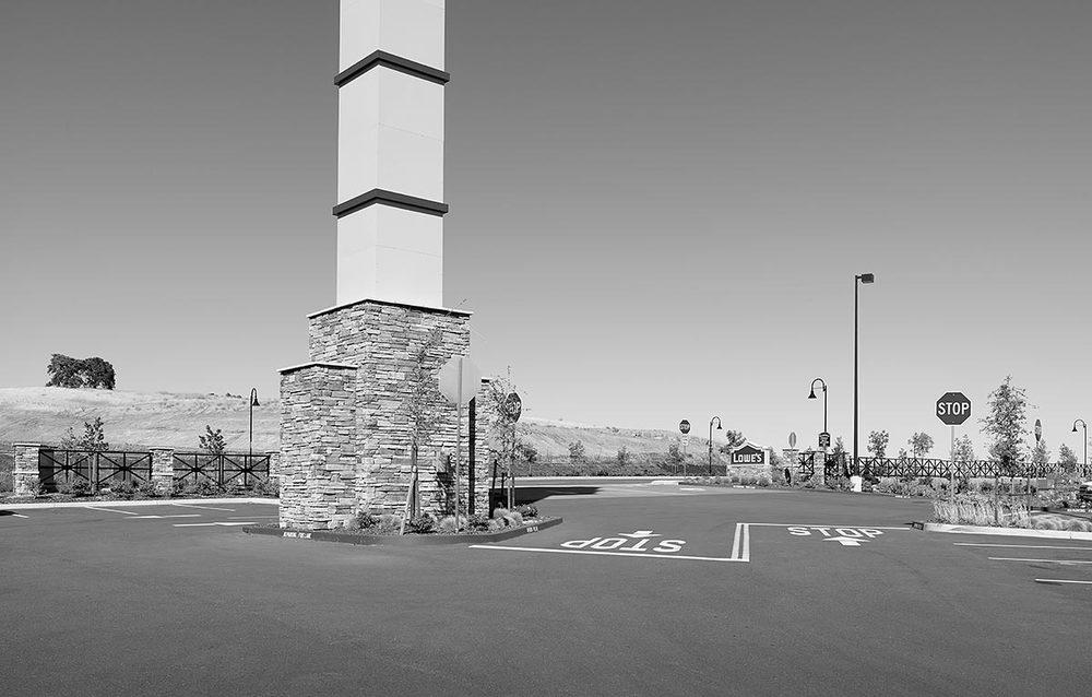 Lowe's Parking Lot Entrance, Fairfield, CA