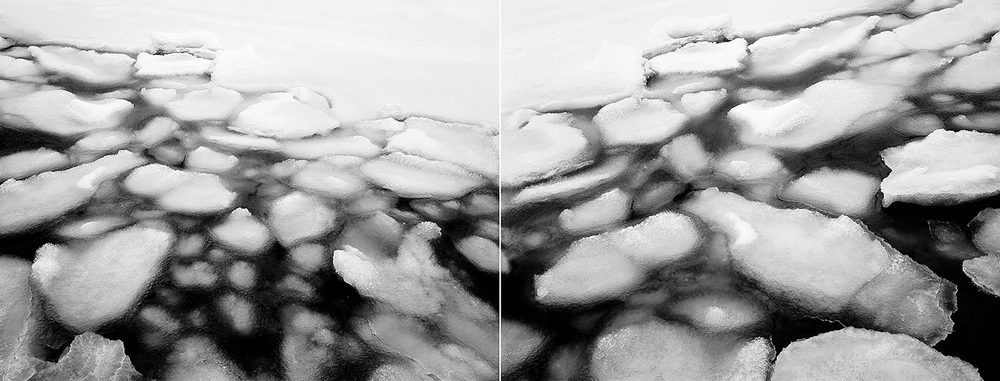 Ice Flow Diptych