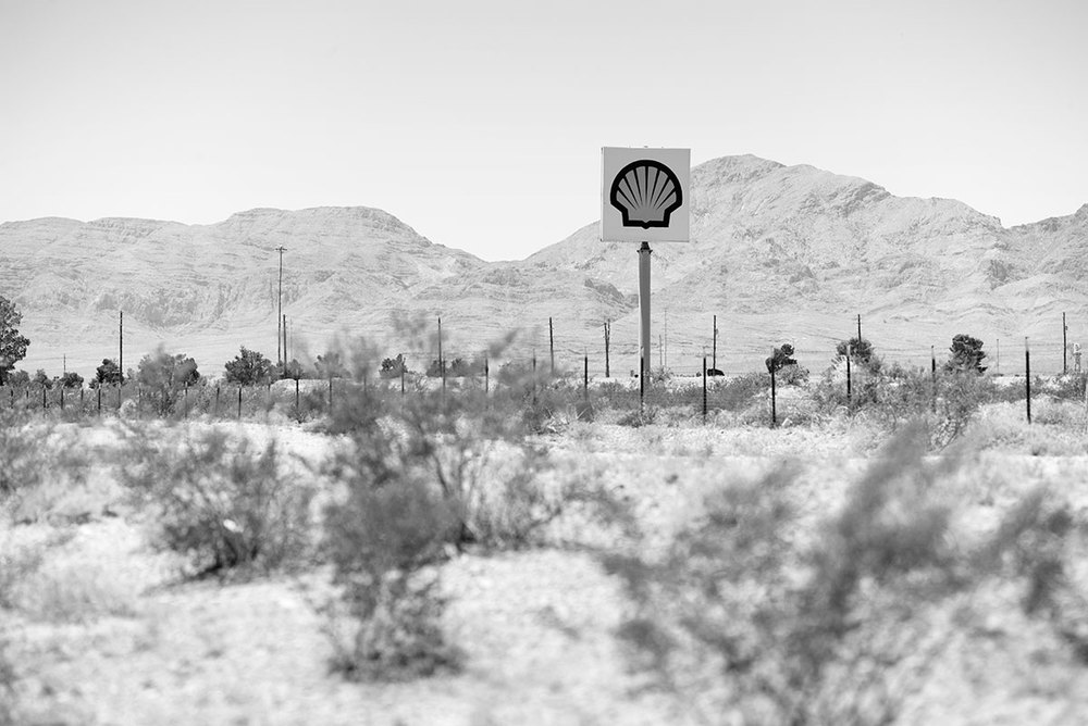 Shell Gas Sign, Jean, NV