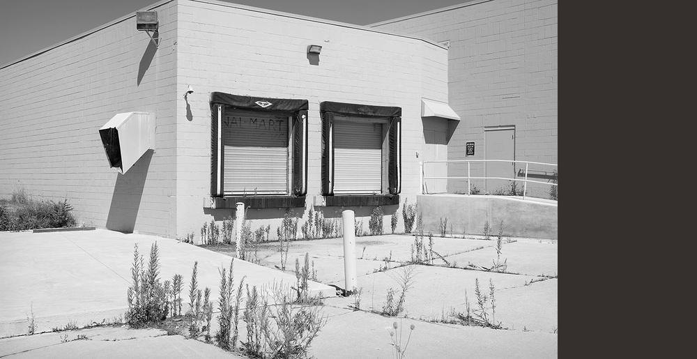Abandoned Walmart Loading Dock, Ottawa, IL