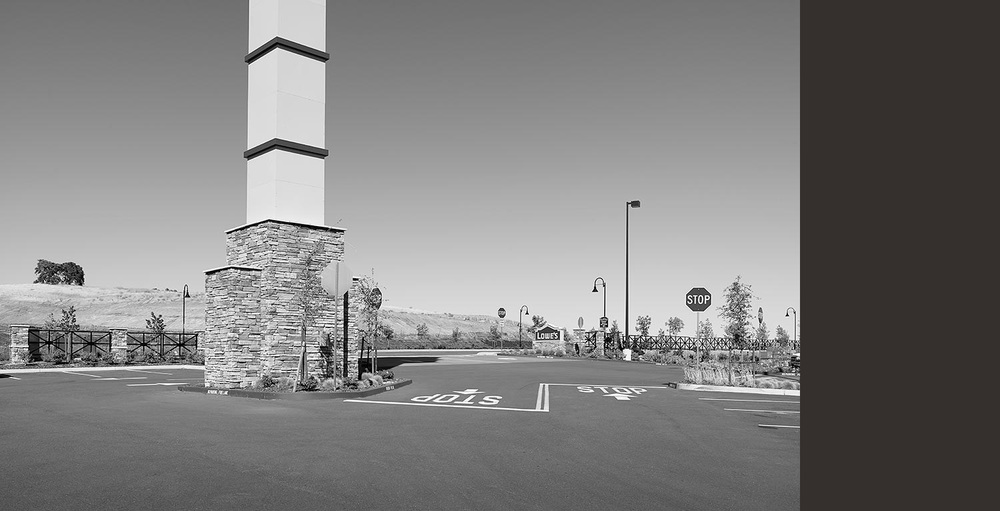 Lowe's Parking Lot Entrance, Fairfield, CA