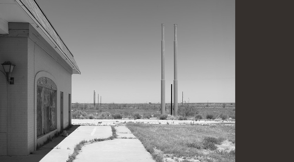 Abandoned Gas Station, Pecos, TX