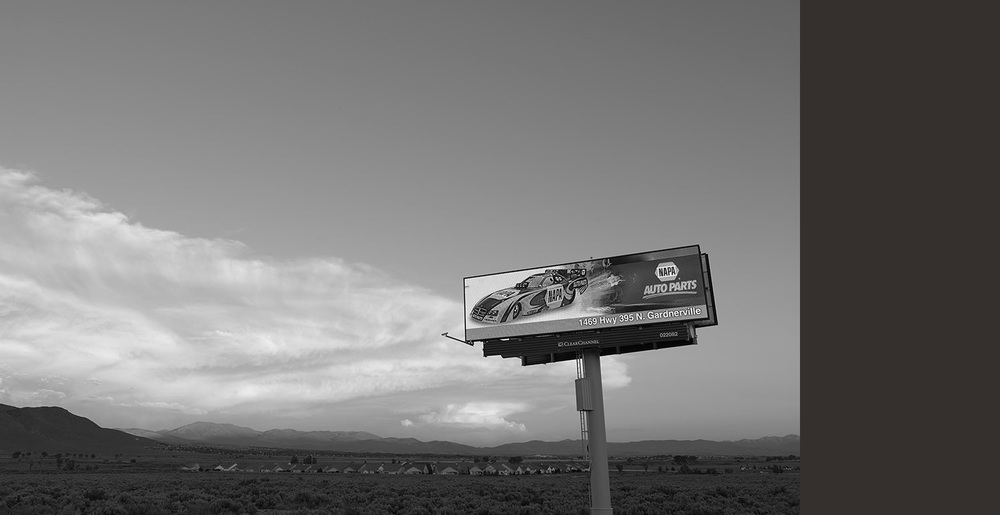 NAPA Auto Parts Billboard, Carson City, NV