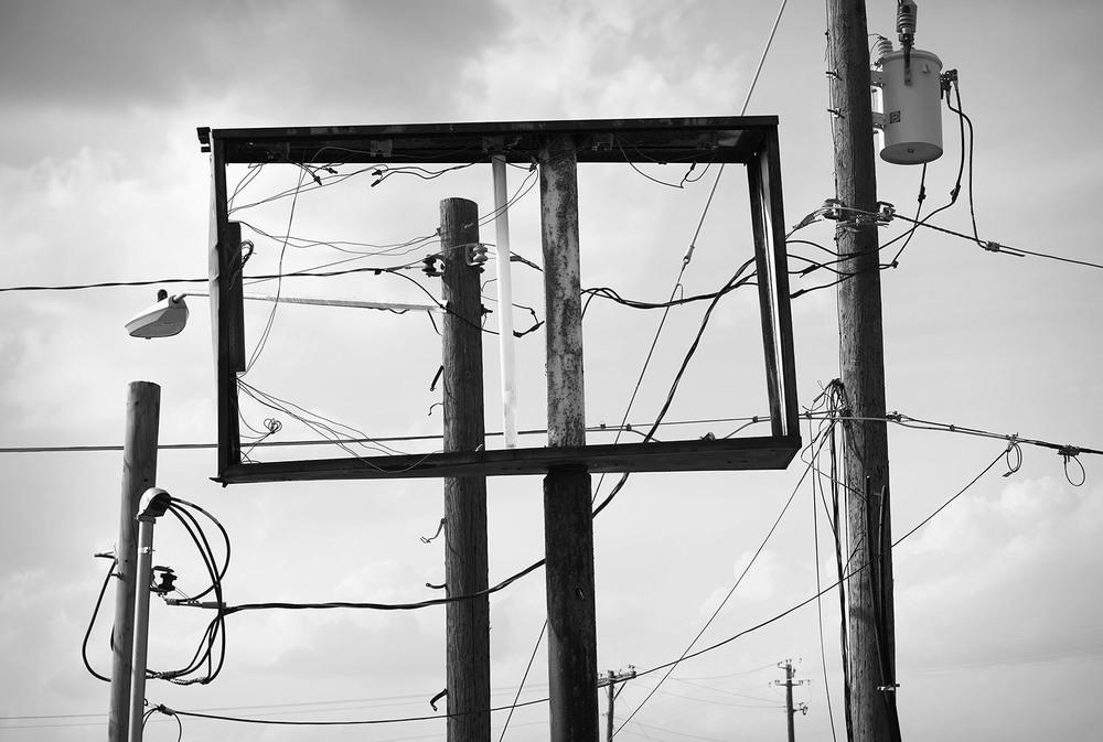 Derelict Sign Frame, Austin, TX