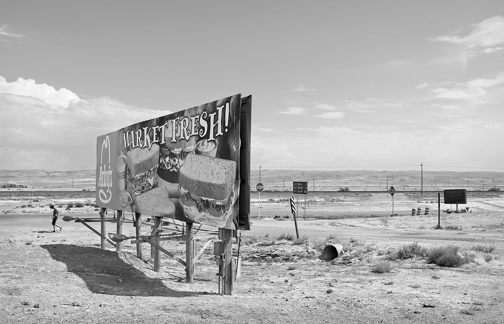 Arby's Billboard, Green River, UT