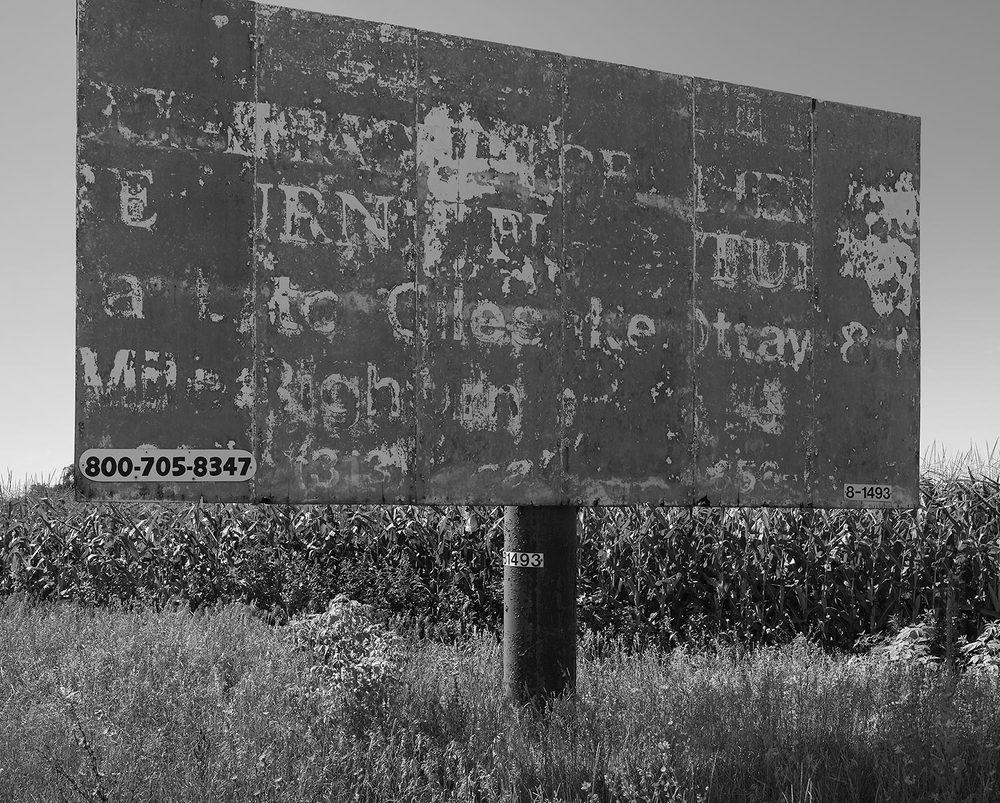 Derelict Sign, Blissfield, MI