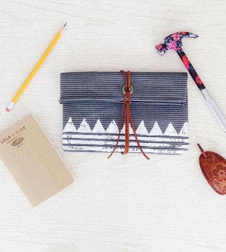 leila + olive, textile tinkerer image via