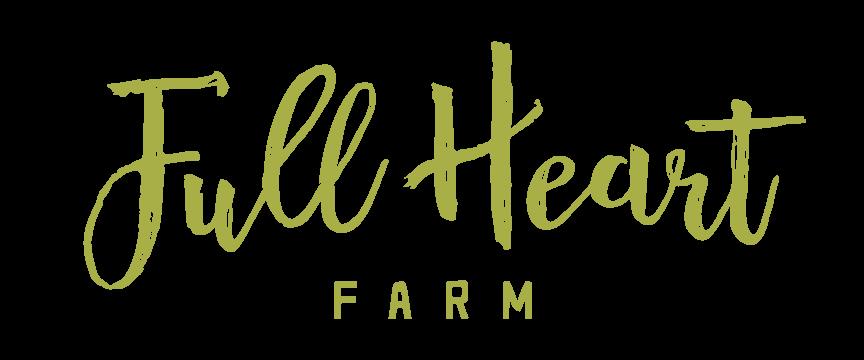 full heart farm logo design