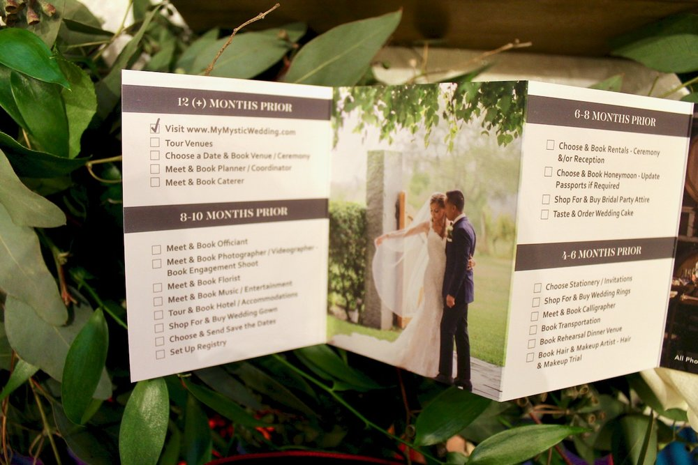 wedding timeline design