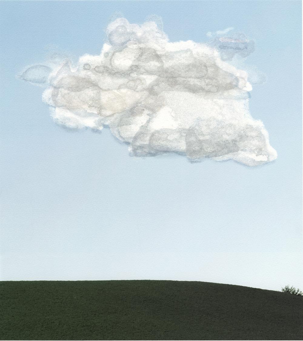 "Cumulus no. 1  • Iris print • 14"" x 16.25"""