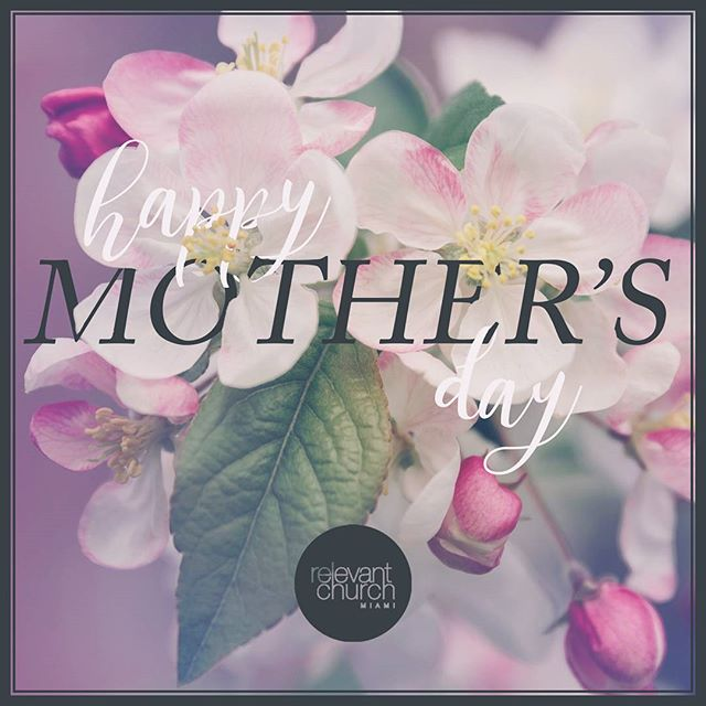 Join us tomorrow for a special mother's day celebration. As a special thank you to all of our hardworking mom's, we will be taking family portraits!  See you all at 10:00 am.  #relevantmia #relevantchurchmiami #jesus #mothersday #church #hialeah #miami