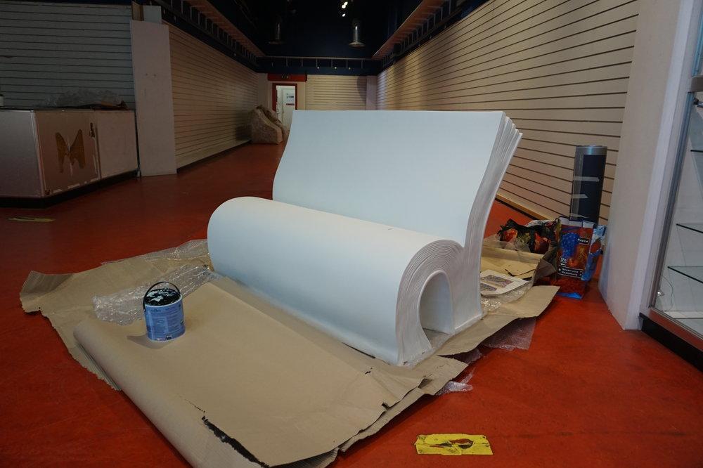 The blank canvas!