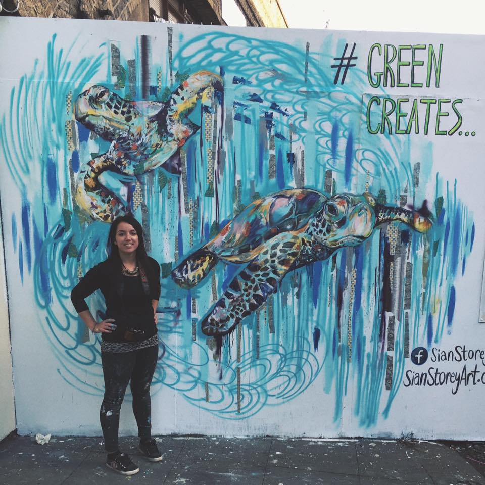 GREEN CREATES EXHIBITION - LONDON, 2016