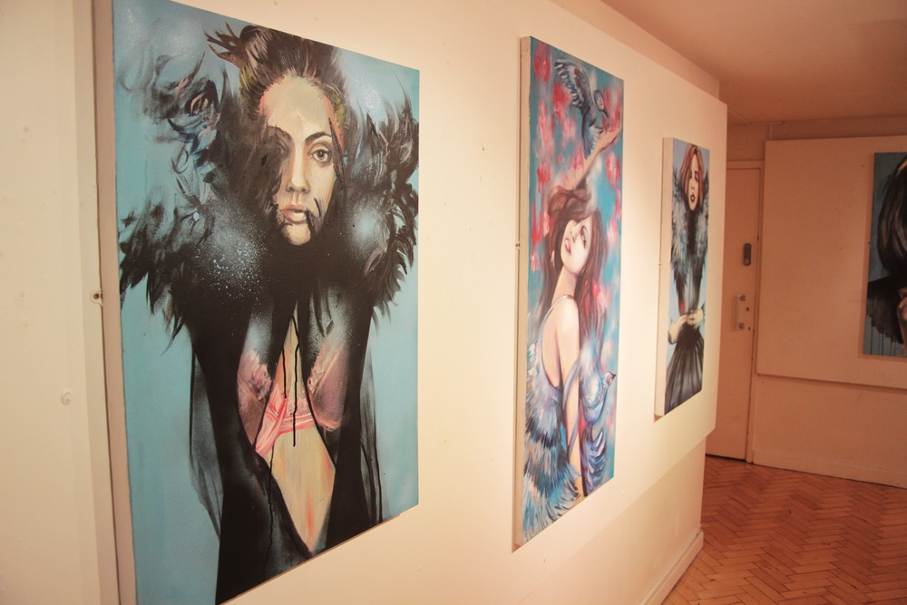 ADORNED - SOLO EXHIBITION, 2014