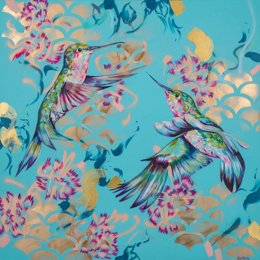 'PEACE' - Original painting£950