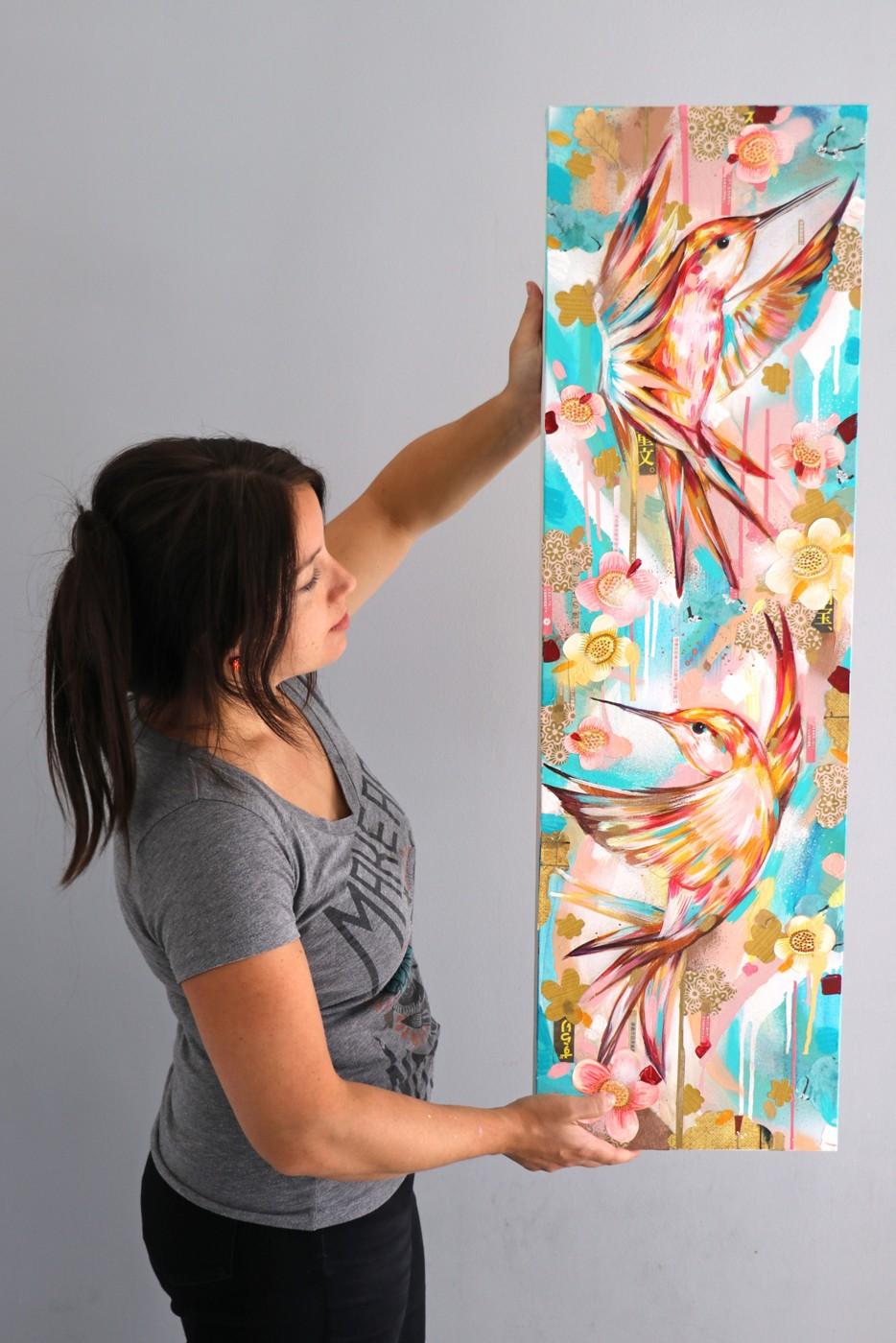 'AUTUMN IN KYOTO' - Original painting£600