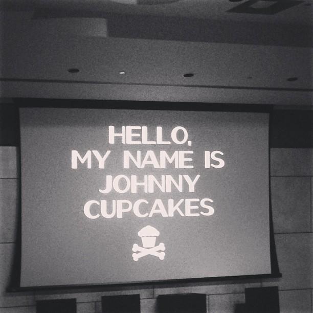 Hello #johnnycupcakes.