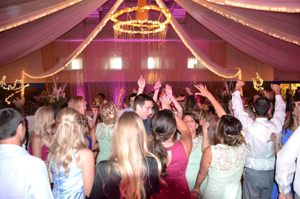 Wedding Dance celebration with Flamingo Event Services