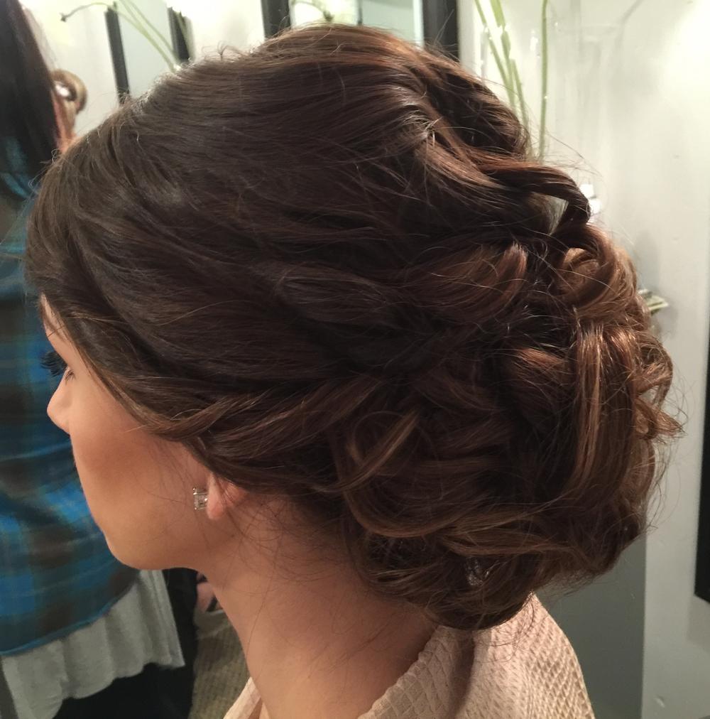 Wedding Day Hair by Daylily Spa Salon