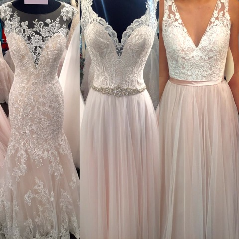 Wedding Gowns from Carrie Johnson Bridal