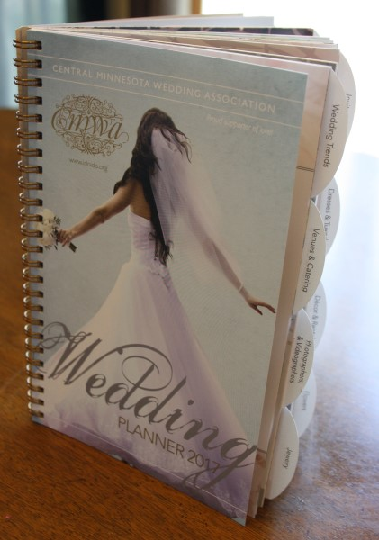 2017 Wedding Planner designed and printed by Rengel Printing Company