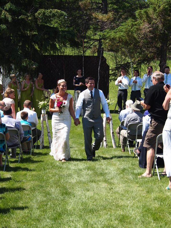 Outdoor Ceremony at Powder Ridge