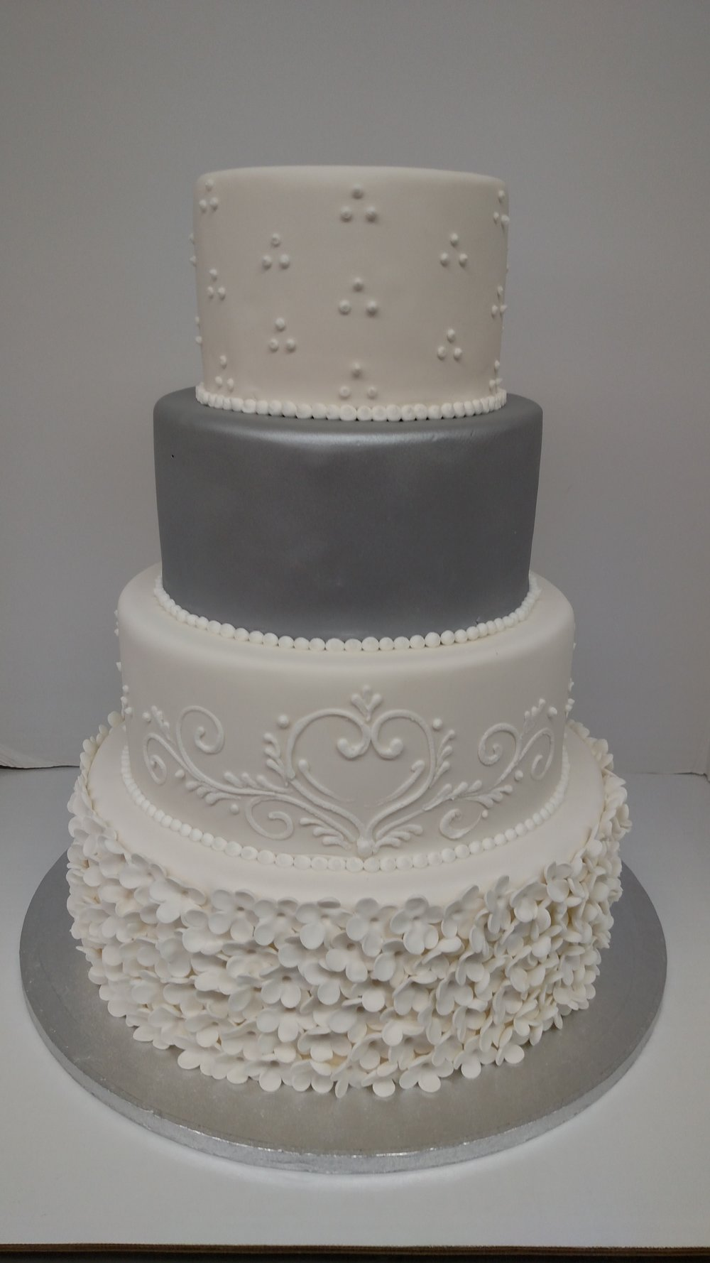 Custom Wedding Cake by Cold Spring Bakery