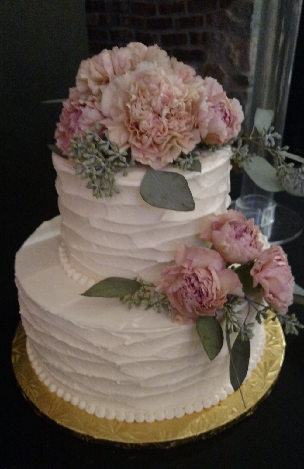 Wedding Cake by Cold Spring Bakery