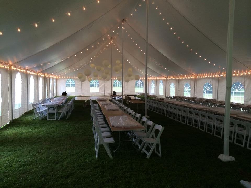 Tent Rental & Lighting by Geyer Wedding & Event Rentals