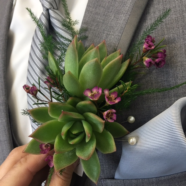 Boutonniere by Wedding & Tuxedo Connection