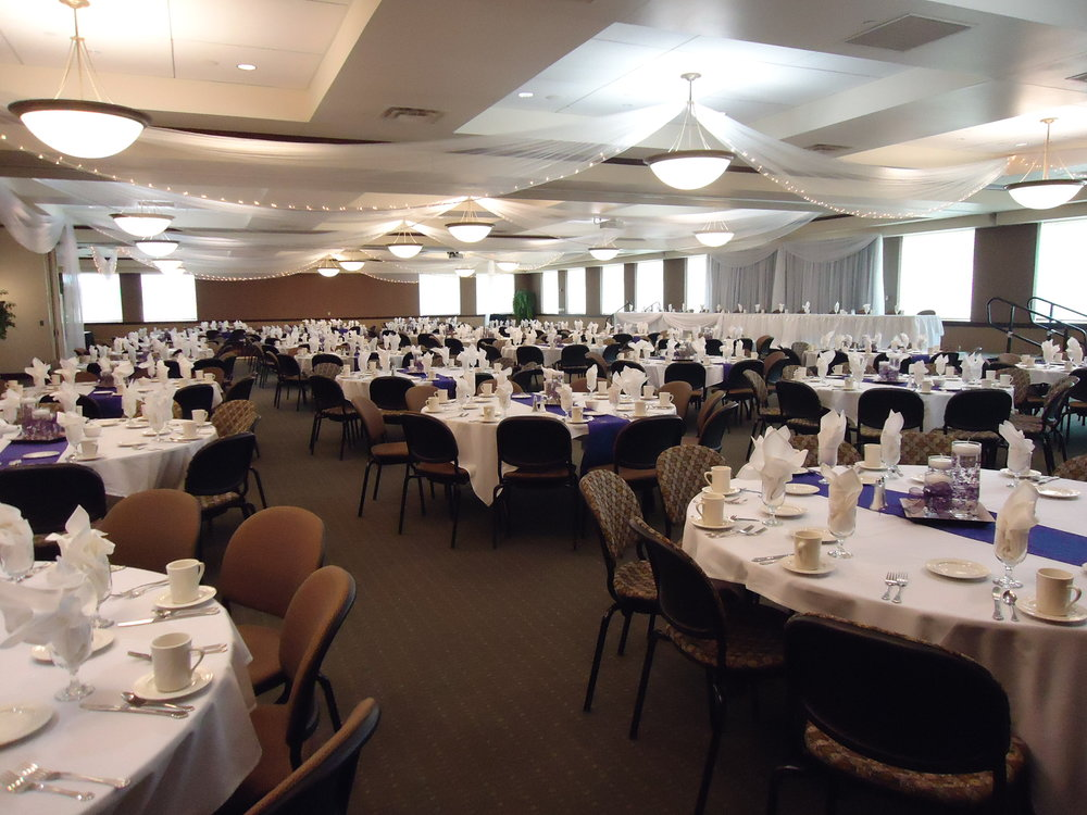 Wedding Reception at the Gorecki Center at the College of St. Benedict