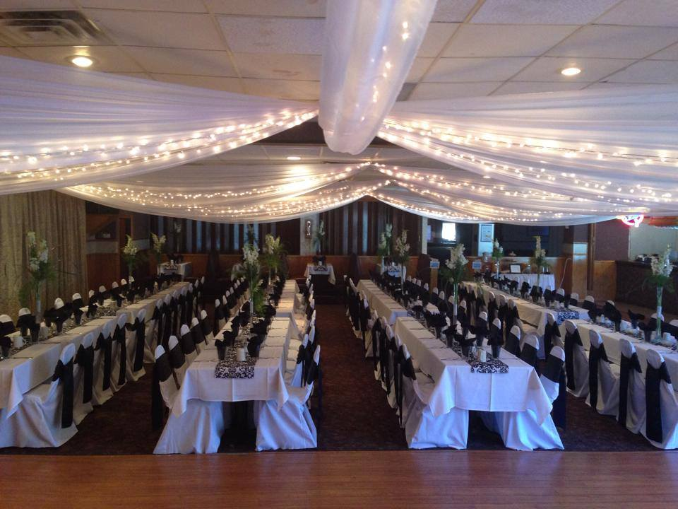 Wedding Reception at The Great Blue Heron