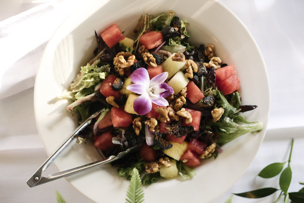 Watermelon Fig Salad