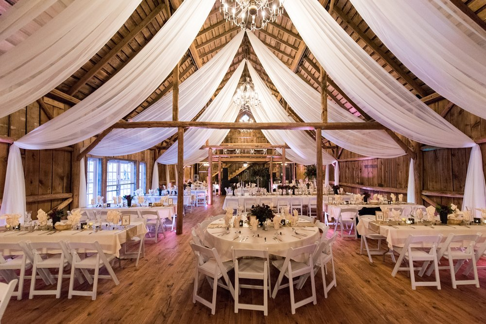 Wedding Reception at Rolling Ridge