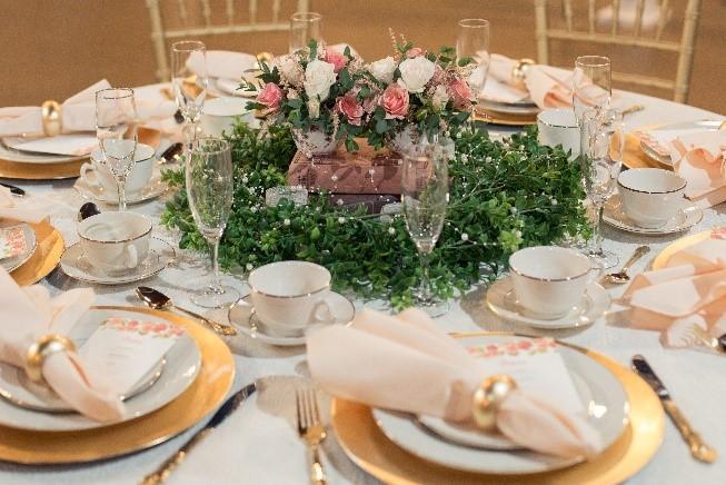 Elegant Tea Party Style Wedding