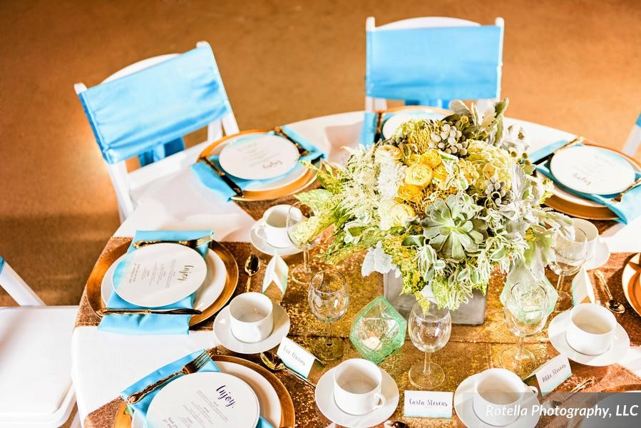 Ombre Wedding Design
