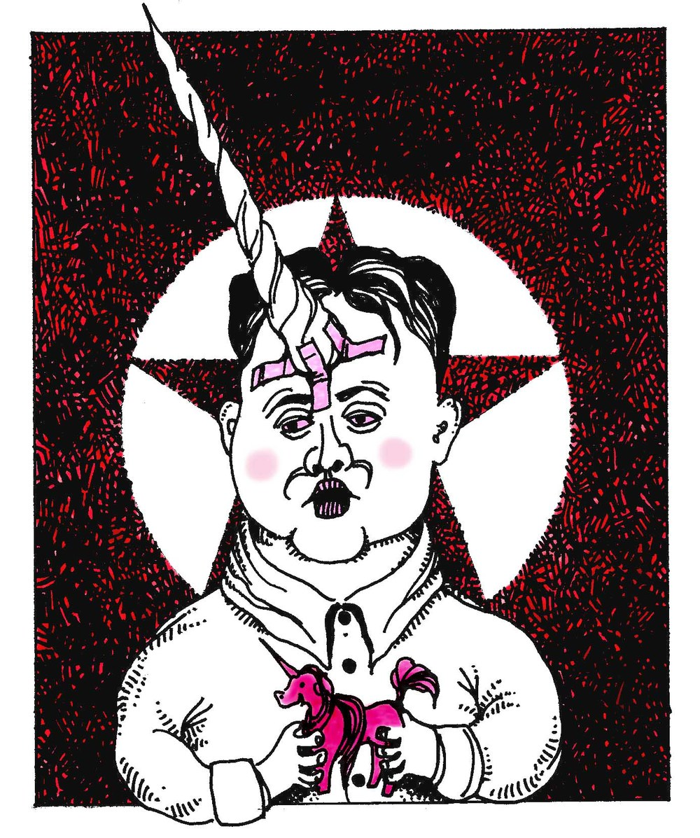 """Kim Jong Un with Unicorn"""