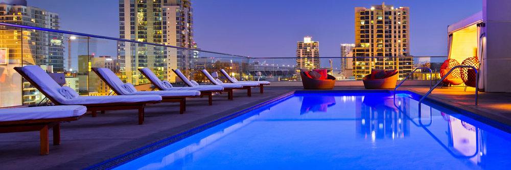 W Hotel   421 W B St, San Diego, CA 92101  (619) 398-3042
